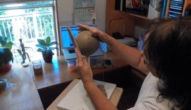 donna sculpting